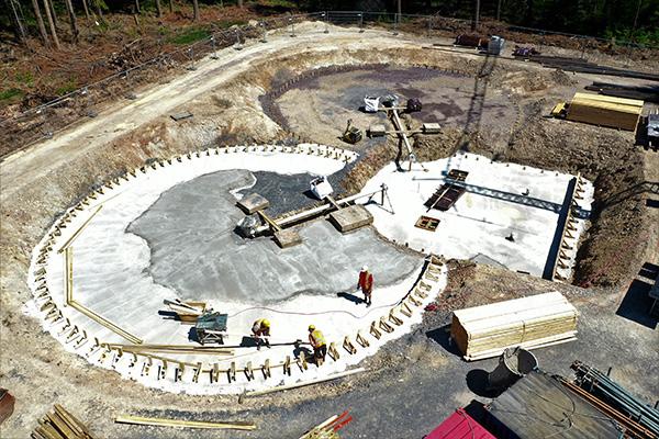 Baustelle von oben 2