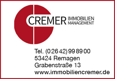 Cremer Immobilien Management Remagen Banner