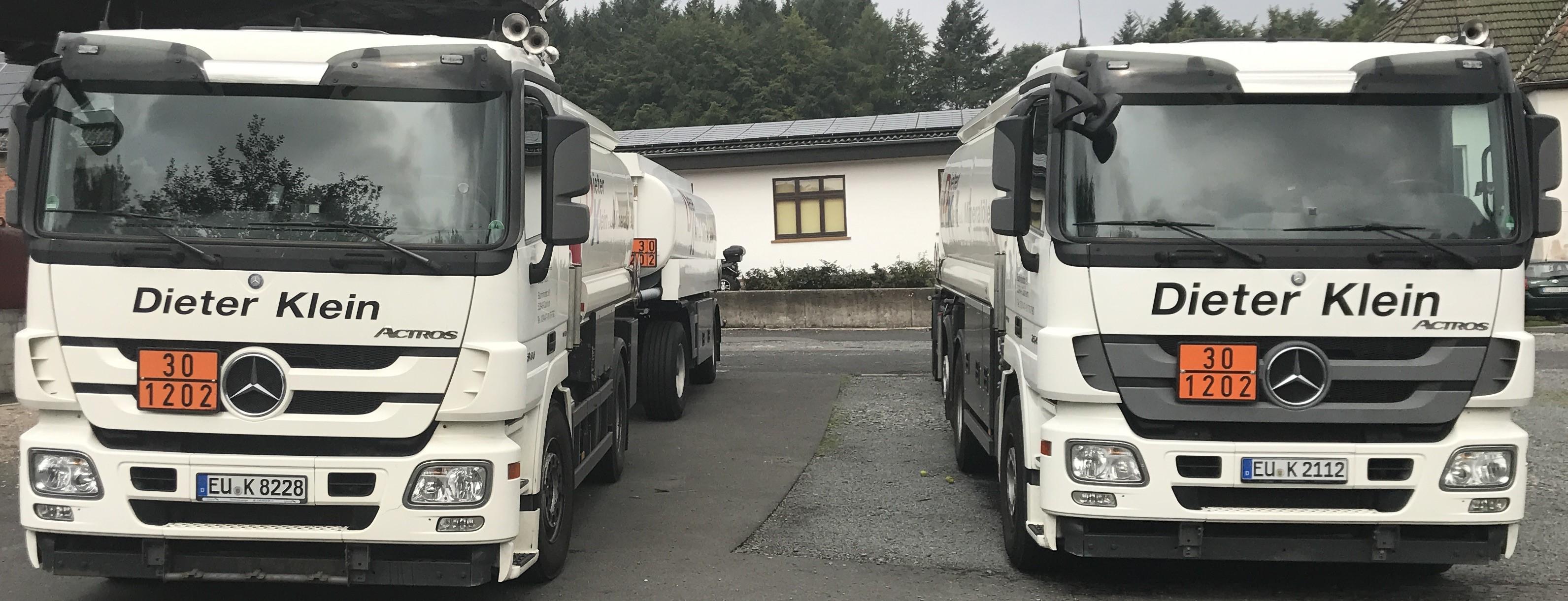 Tankwagen von vorne