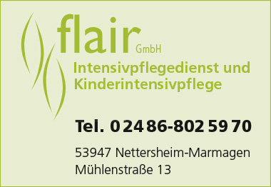 flair Intensivpflegedienst Banner